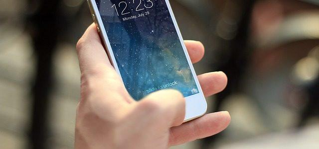 iPhoneの操作