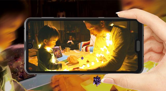 「AQUOS R3」はAIの進化で動きも笑顔もそのまま撮れるカメラ
