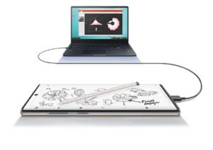 Galaxy Note10+とPCの連動