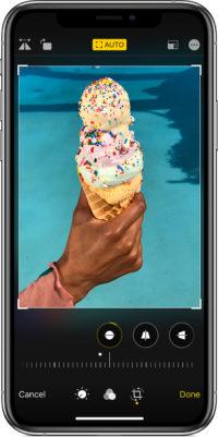 iPhoneに入っている写真アプリで編集する方法