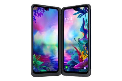 LG G8X ThinQの正面画像