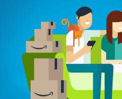 Amazonのトップバナー