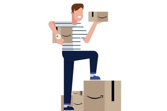 Amazonの配達員