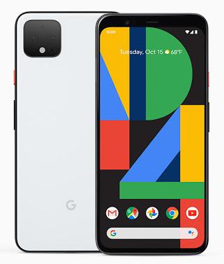 Google Pixel 4の外観