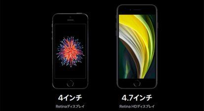 iPhone SE(第2世代)のサイズ