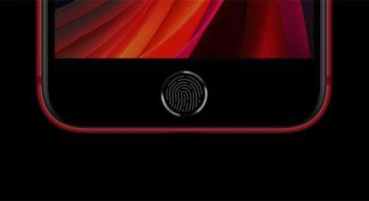 iPhone SE(第2世代)は指紋認証機能「Touch ID」付きのホームボタン
