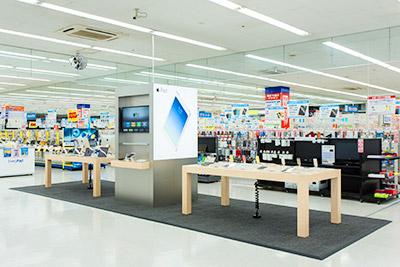 ヤマダ電機のApple Shop