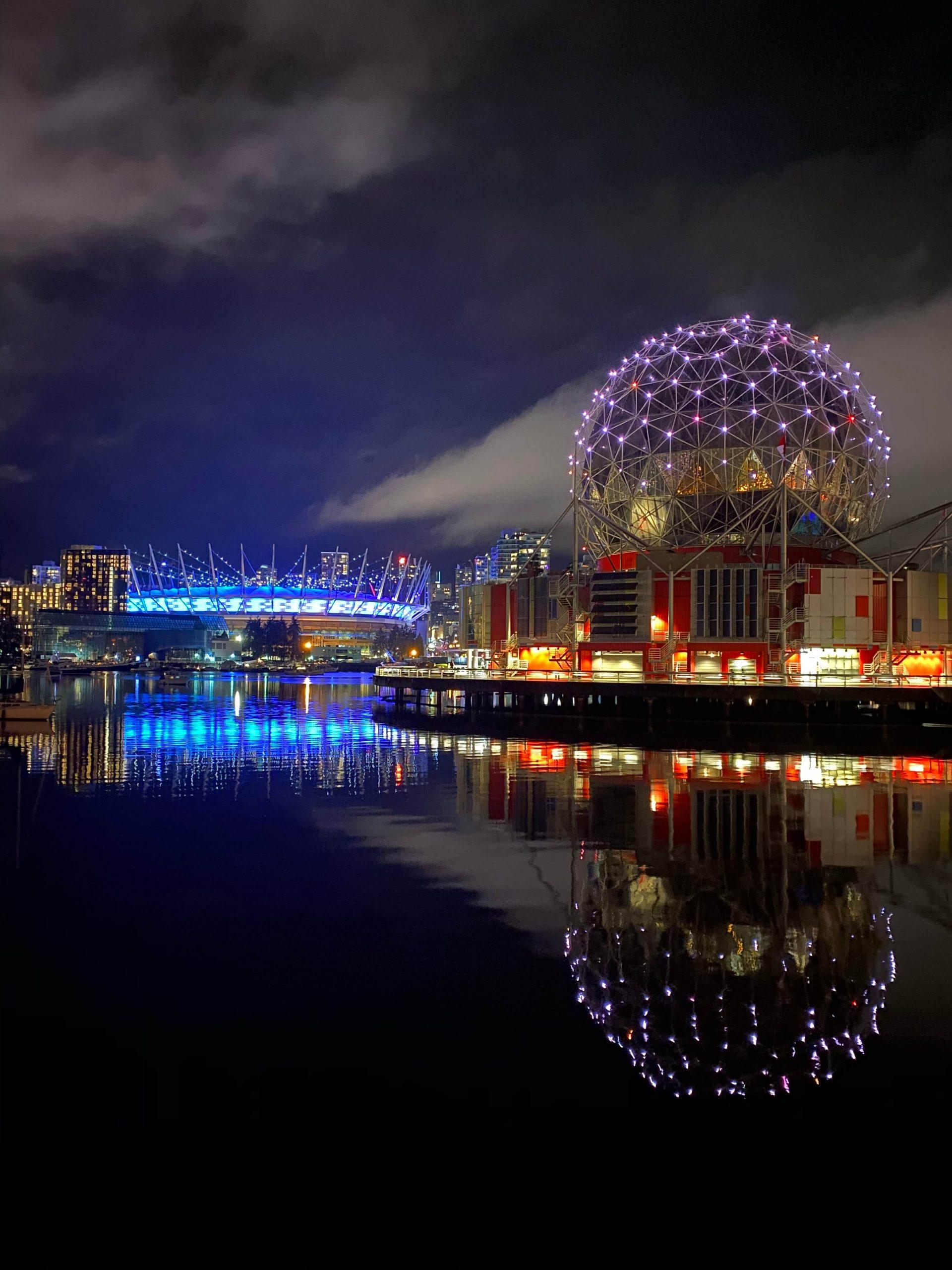 iPhone 11で撮影した夜景