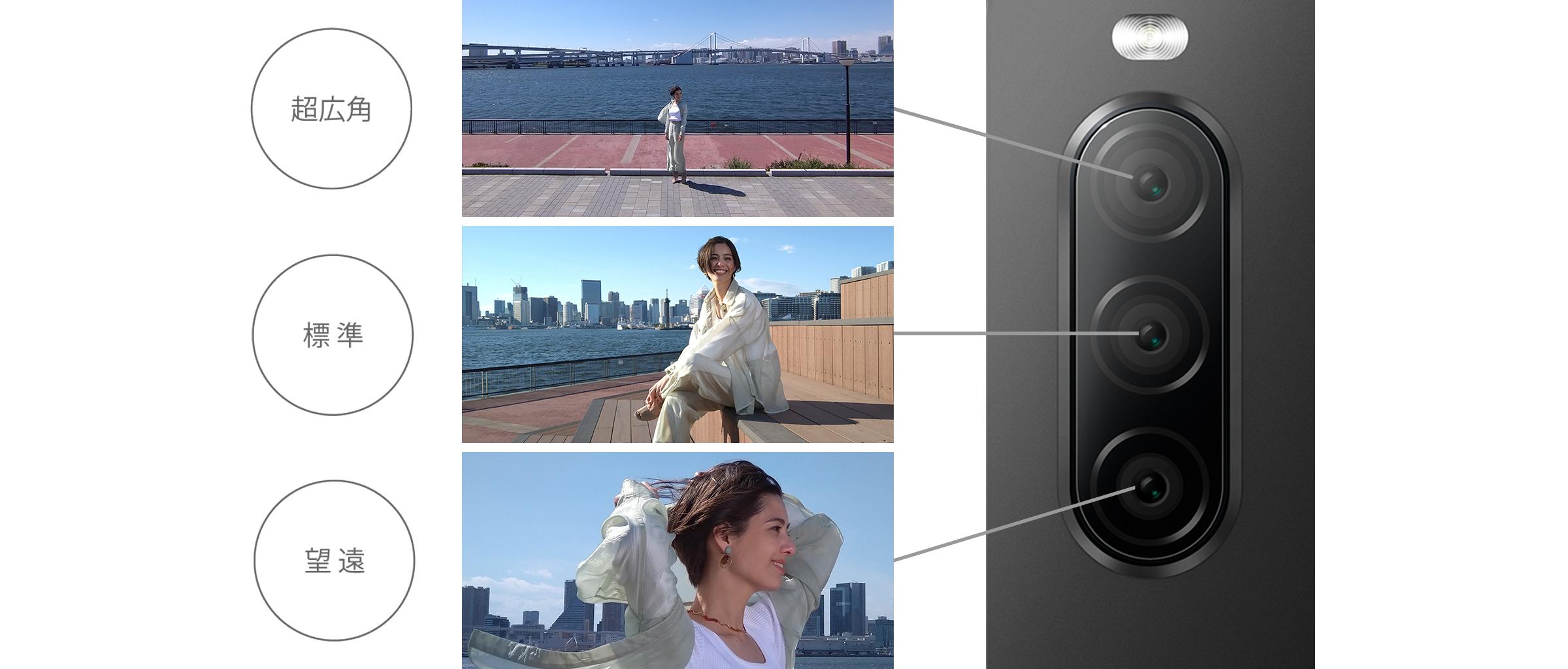 Xperia 10 IIのカメラ性能