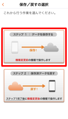 iPhone→Androidに機種変更する場合のバックアップ方法⑥