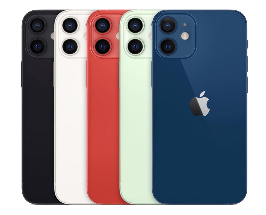 iPhone 12/mini カラー