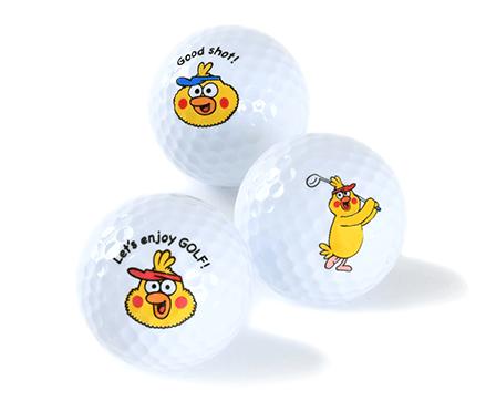 ポインコ ゴルフボール3個セット