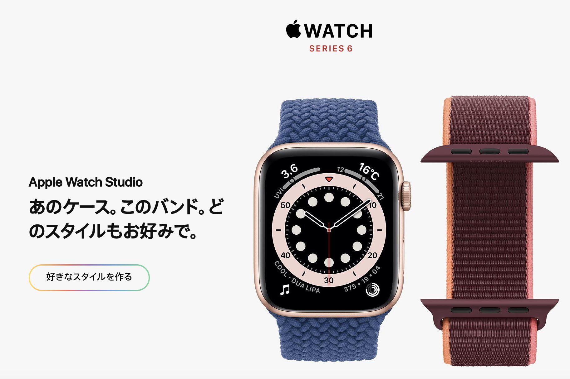 Apple Watch Series 6 デザインのイメージ