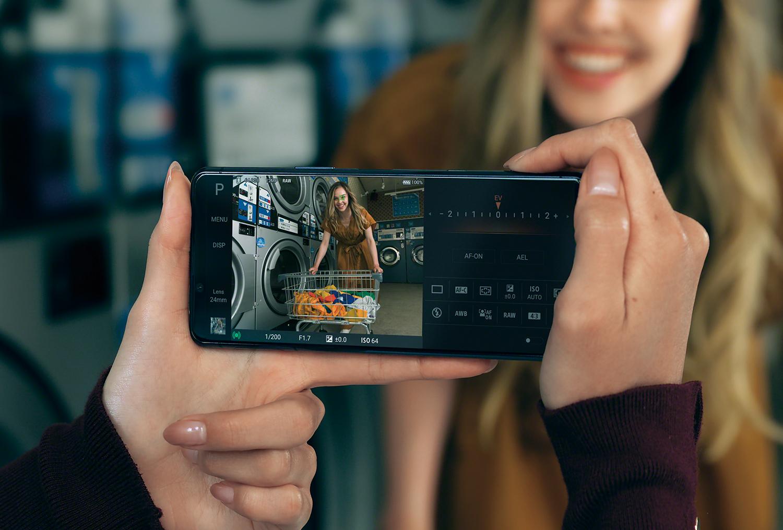 Xperia 5 II カメライメージ