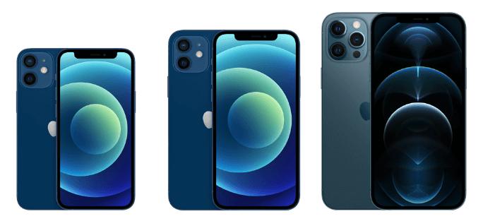 iPhone12とiPhone12 Proの比較
