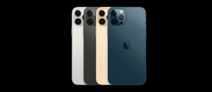 iPhone12のカラーバリエーション