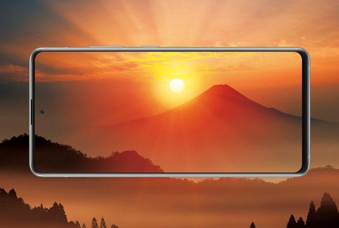 Galaxy A51 5Gディスプレイ