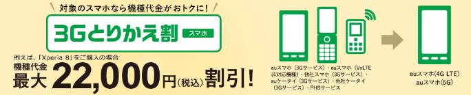 3Gとりかえ割(スマホ)/3Gとりかえ割プラス