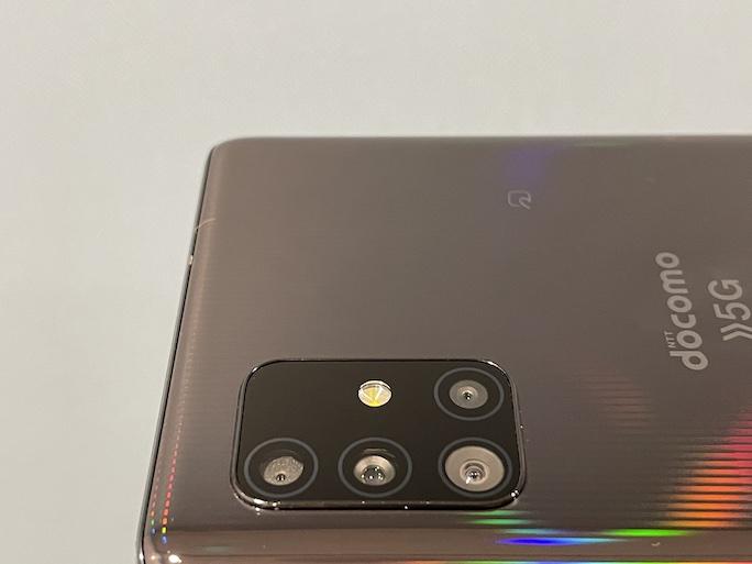 Galaxy A51 5Gの実機