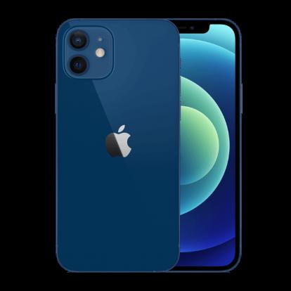 iPhone12ブルー