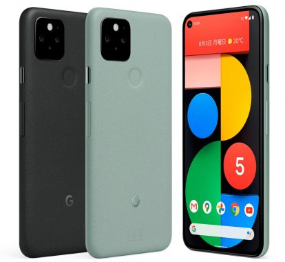 Google pixel5