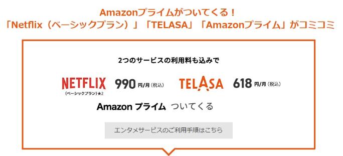 使い放題MAX 5G Netflixパック(P)
