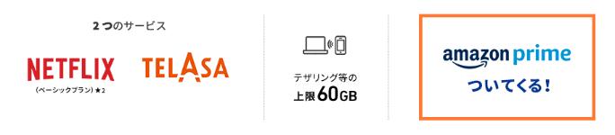 au 使い放題5G netflix