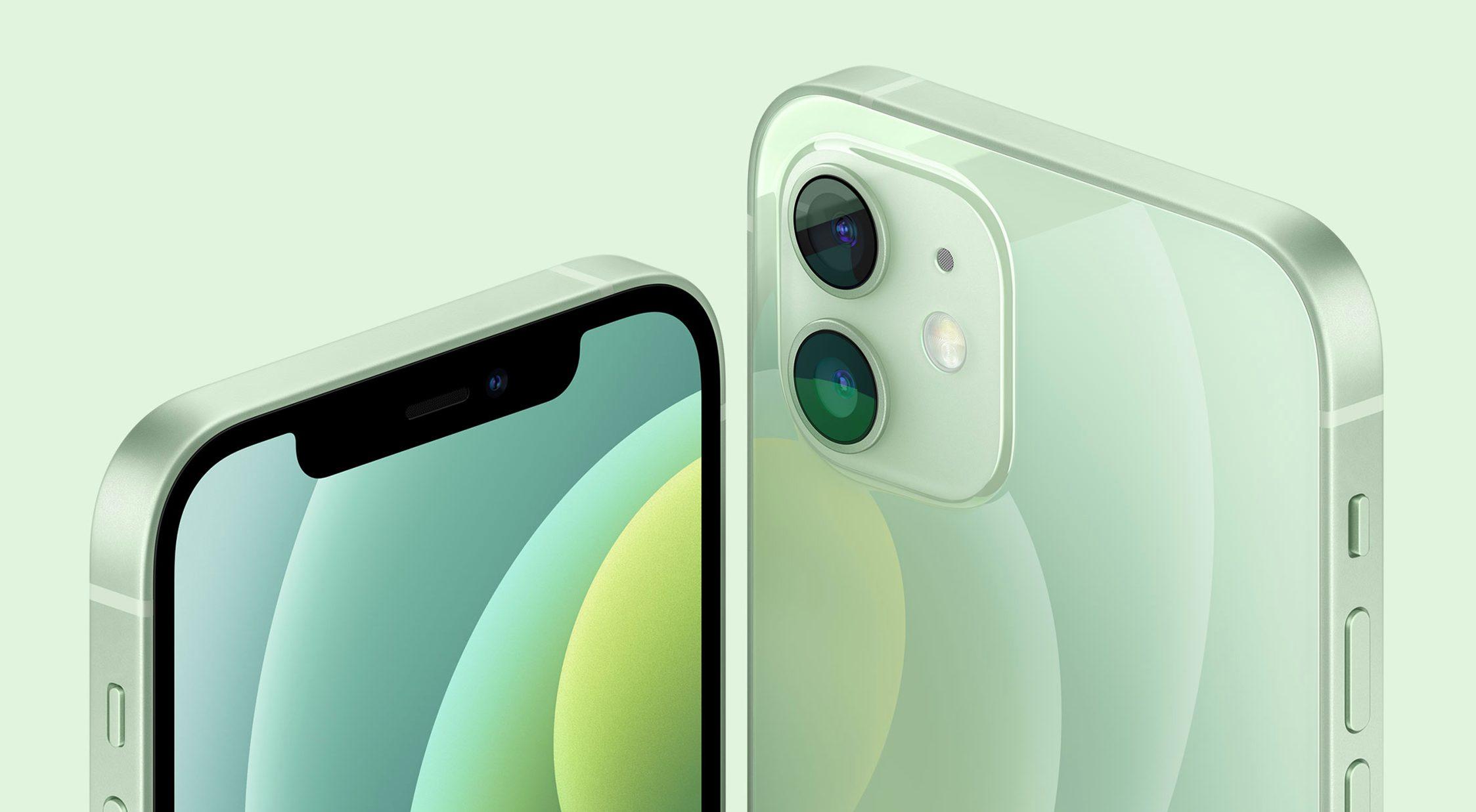 iPhone12 グリーン