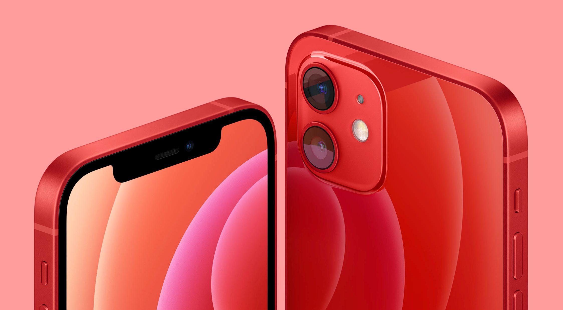 iPhone12 レッド