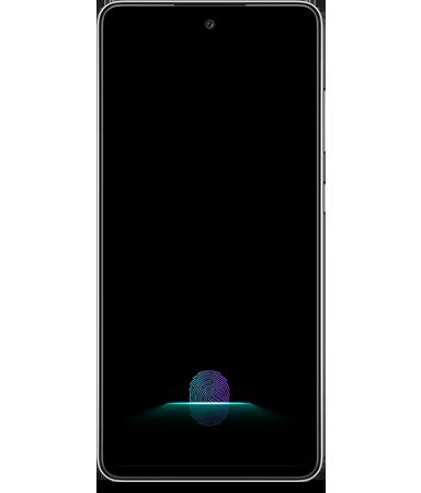 Galaxy A52 5G指紋認証