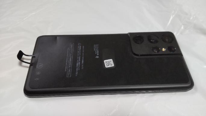Galaxy S21 Ultra 5G 実機 裏面