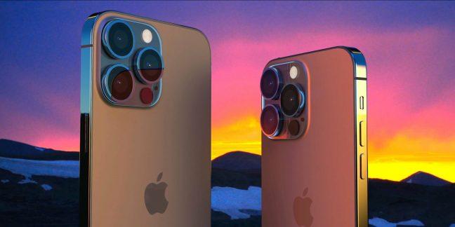 iphone13のモック画像