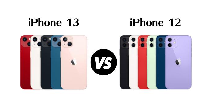 iPhone13とiPhone12の違いを比較!どっちを買うべき?