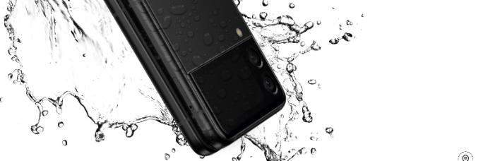 Galaxy Z Flip3 5Gの防水