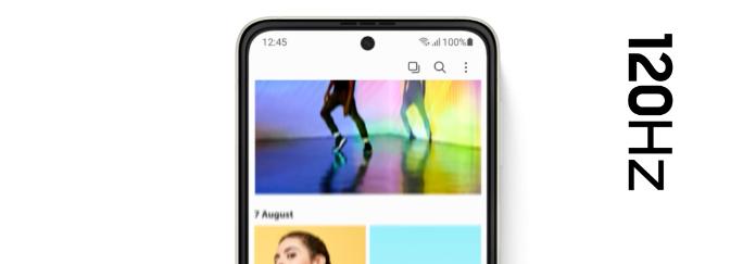Galaxy Z Flip3 5Gのディスプレイ