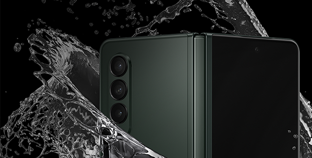 Galaxy Z Fold3 5Gの防水機能