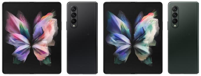 Galaxy Z Fold3 5Gのカラー