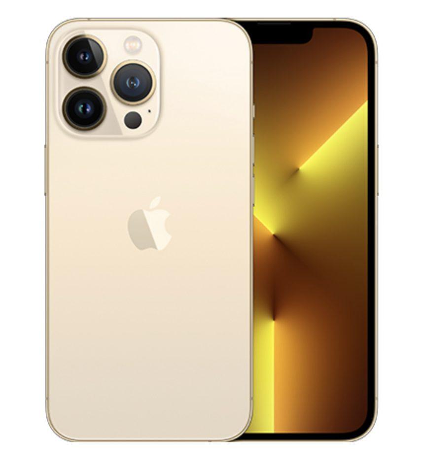 iPhone13 Proのゴールド