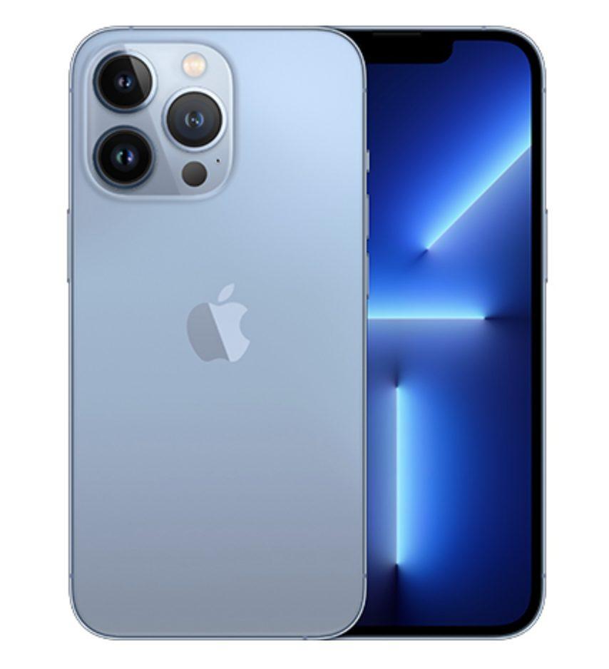 iPhone13 Proのシエラブルー