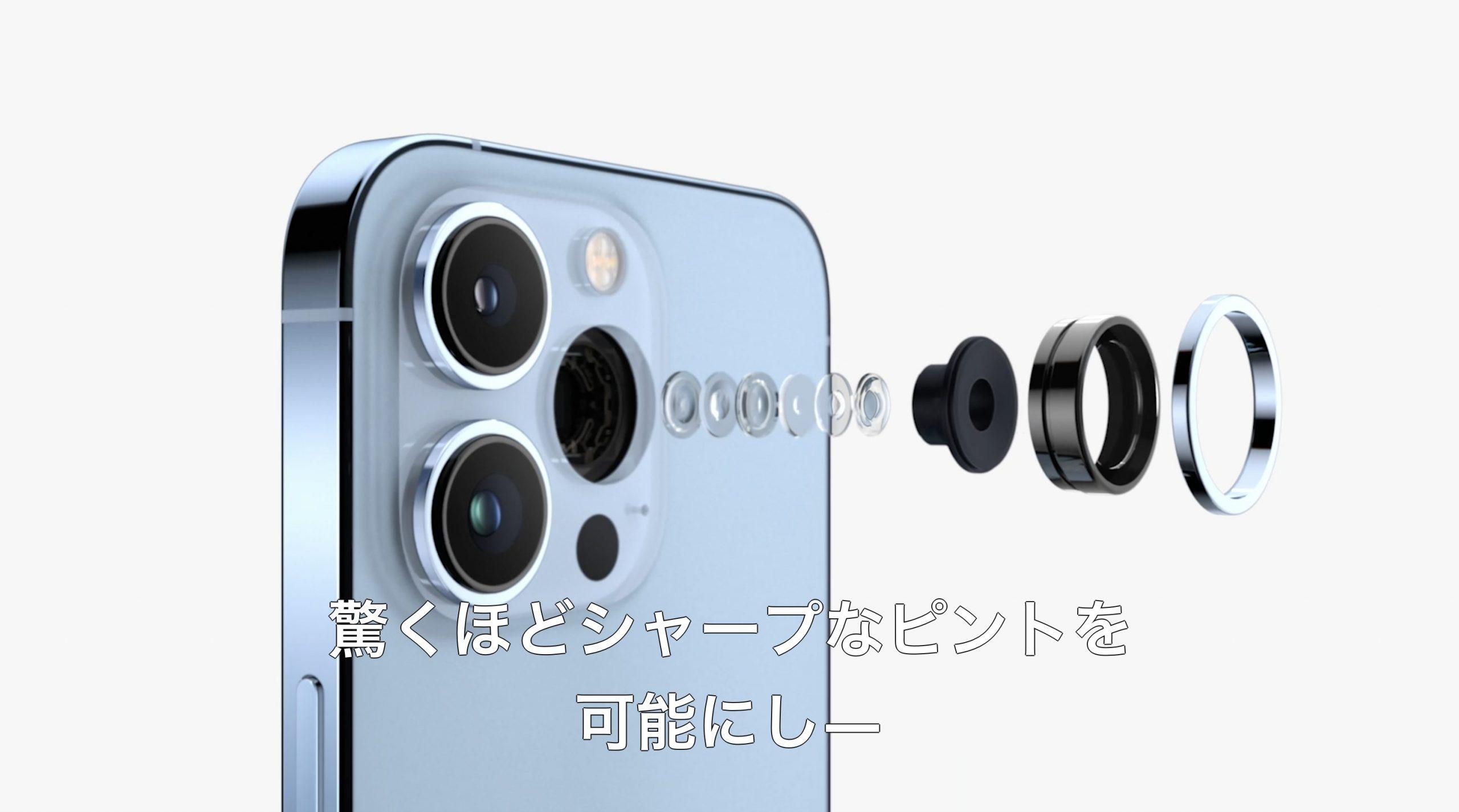 iPhone13 Proのカメラ